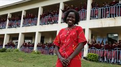 """Kakenya Ntaiya is inspiring change in her native Kenyan village. After becoming the first woman in the village to attend college in the United States, she returned to open the village's first primary school for girls. """"Our work is about empowering the girls,"""" Ntaiya said. """"They are dreaming of becoming lawyers, teachers, doctors."""""""