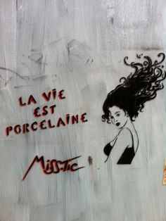 Miss Tic - Paris street art