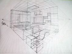 interior perspective drawing - Google Search