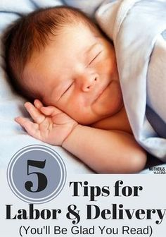 Love these Labor & Delivery Tips. Made such a difference for my birth experience! Read in the 3rd trimester of pregnancy!