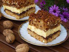 Kuchnia pachnąca wanilią : ORZECHOWIEC Tiramisu, French Toast, Sweet Tooth, Breakfast, Ethnic Recipes, Food, Dessert Ideas, Cakes, Morning Coffee