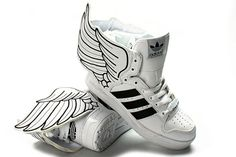 Shoes with wings! cool..