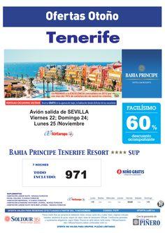 Tenerife, 60% Bahía Príncipe Tenerife Resort, salidas 22, 24 y 25 Noviembre desde Sevilla - http://zocotours.com/tenerife-60-bahia-principe-tenerife-resort-salidas-22-24-y-25-noviembre-desde-sevilla/