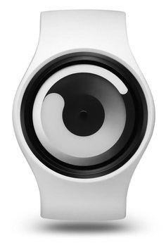 Ziiiro Gravity Snow White Unisex Silikon / Edelstahl Watch wechselbare Uhr Designed in Germany Modern Watches, Cool Watches, Watches For Men, Wrist Watches, Dezeen Watch Store, Watch Image, Just Dream, Watch Faces, Unisex
