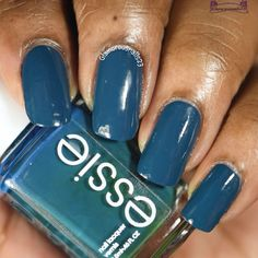 Essie Go Overboard Essie, Swatch, Nail Polish, Nail Art, Stone, Nails, Beautiful, Finger Nails, Rock