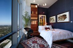 Penthouse Designer Showhouse - contemporary - Bedroom - Orlando - Ted Maines Interiors