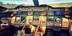 Flugsimulator Airbus A380 Basel #Flugzeug #Geburtstag #Geschenk