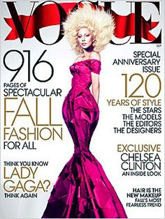 @Ladygaga covers Vogue's September Issue