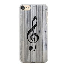 iPhone 7 Plus/7/6 Plus/6/5/5s/5c Case - Vintage White Music Note... ($35) ❤ liked on Polyvore featuring accessories, tech accessories, iphone case, wooden iphone case, iphone cases, apple iphone case, wood iphone case and slim iphone case
