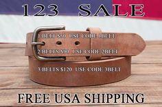 1 belt $50 code 1belt 2 belts 90 cod 2 belt or 3 belts for $120 code 3 belts. Free USA shipping.