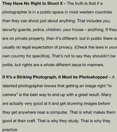 Photo myths