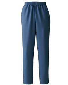 Donnkenny Elastic-Waist Gabardine Pull-On Pants, Denim Blue, - Petites Machine wash & dry Imported Women's Average: Average fits to Women's Average Posture Bra, Lacy Bra, Elastic Waist Pants, Pull On Pants, Easy Wear, Classic Outfits, Bra Lingerie, Shirt Shop, Dress Making