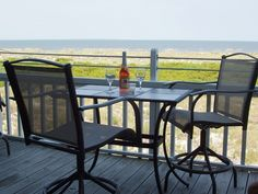 Sit back and relax on your private oceanfront balcony!