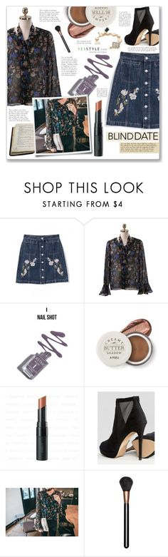 """""""Date Night Style"""" by megx12 ❤ liked on Polyvore featuring Chlo.D.Manon, ALDO, MAC Cosmetics and Kate Spade"""