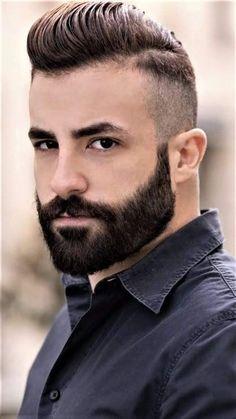 Beard Styles For Men, Hair And Beard Styles, Trending Beard Styles, Short Beard, Short Hair Cuts, Best Short Haircuts, Haircuts For Men, Hairy Men, Bearded Men