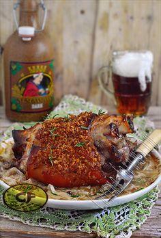 Czech Beer Roasted Pork Knuckle - Pečené vepřové koleno