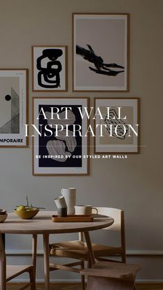 Find modern gallery wall ideas here! We offer a large collection of posters and art prints. Free framing included — If you buy a matching poster we will frame it for you so its ready to hang on the wall when you receive it. Browse our selection of quality posters and art prints at www.theposterclub.com Modern Gallery Wall, Free Frames, Art Walls, Frame It, Wall Art Quotes, Quote Posters, Home Decor Wall Art, Wall Ideas, Picture Wall