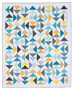 Sun and Sea Quilt Pattern