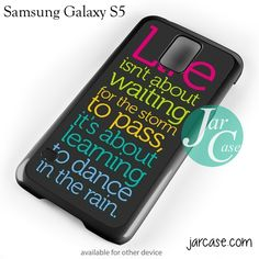 Awesome Quotes Abaout Life Phone case for samsung galaxy S3/S4/S5