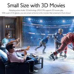 JMGO M6 Portable DLP Projector Sales Online golden - Tomtop Tech Accessories