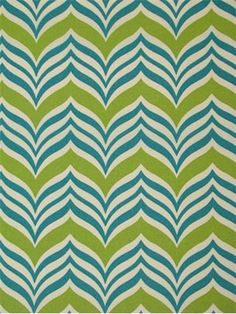 """Ripple Effect Sea Spray.  Waverly Outdoor fabric for porch and patio cushions, pillows or upholstery. Resists fading for up to 500 direct sunlight hours. H 6.75, V13.5"""" up the roll repeat. 54"""" wide. Made in U.S.A."""