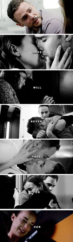 Marvel's Agents of S.H.I.E.L.D. FitzSimmons color then bw