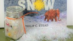 SAMSON IN THE SNOW Discovery Jar
