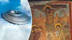 Pintura medieval revela que ÓVNIS estavam presentes na crucificação de Jesus Cristo - Sempre Questione