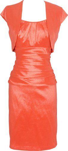 Scoop Taffeta Knee Length Formal Bridesmaid Shift Dress with Bolero, 3X, Orange PacificPlex,http://www.amazon.com/dp/B00AXDDJ70/ref=cm_sw_r_pi_dp_iUOttb1THSN998VN