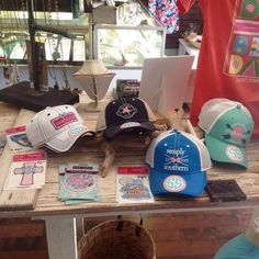 These new Simply Southern hats are to cute!!! Perfect for a day out on the water! by shopthecrystalpistol