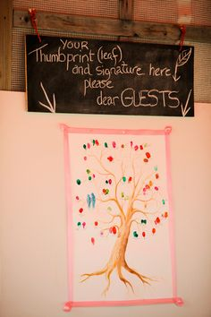 Absolutely love this as an idea for guests! Will be great for all the little people we're inviting too. Courtesy of Francesa and Ian's wedding on Rocknrollbride.com