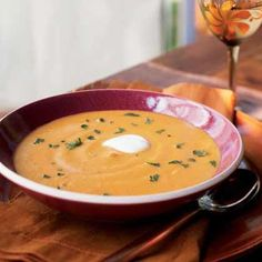 Spiked Pumpkin Soup | MyRecipes