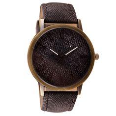 2016 Retro Vogue Wristwatch Cowboy Leather quartz-watch Relogio masculino relogio masculino watch men horloge reloj hombre S16
