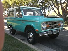 Not yet-but would LOVE an old Bronco