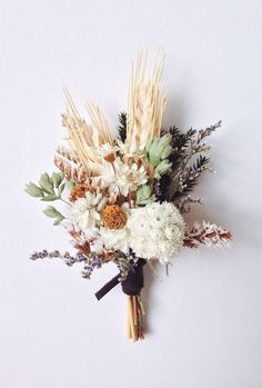 wedding beauty preparation Beautiful and long lasting boutonniere with winged everlasting, dried oregano wheat, and assorted dried flowers. Two boutonniere pins included. Please include your event date in the notes at checkout. Floral Wedding, Fall Wedding, Wedding Bouquets, Rustic Wedding, Wedding Flowers, Dream Wedding, Wedding Shoes, Wedding Beauty, Wedding Nails