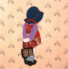Sunbonnet Sue- absolutely love this aplique..cutest I have ever seen. Must do this one!