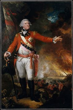 """General George Eliott"" by Mather Brown (1790) at the Metropolitan Museum of Art, New York"