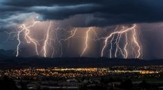 Thunder and lightning natural spectacle in the sky Lightning Safety, Thunder And Lightning, Lightning Strikes, Severe Weather, Extreme Weather, Weather Watch, Effects Of Global Warming, Tornado Alley, Photography Articles