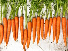 Carrots for a healthy glow  Carrots contain the carotenoid beta-carotene. Carotenoids give the yellow-red colour to fruits and vegetables, flamingos (seriously) and human skin.