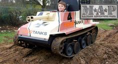Shape up & ship out to the Military Adventure Park with an all-day entry wristband plus two free turns on any activity. Let your kids take control of an authentic, state-of-the-art mini tank, as seen on BBC's Top Gear