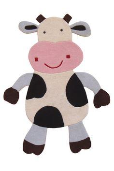 Kinder Daisy the Cow Area Rug