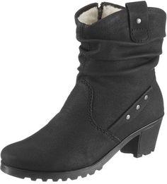Rieker Krátke čižmy Biker, Boots, Fashion, Crotch Boots, Moda, Heeled Boots, Shoe Boot, Fasion, Trendy Fashion