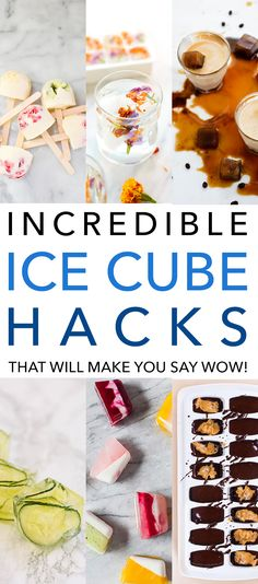 Incredible Ice Cube Hacks That Will Make You Say WOW!