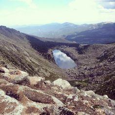 The road to the summit of Mount Evans is the highest paved auto road in North America, climbing to 14,260 feet above sea level. From I-70 take Exit 240 and then Colorado Highway 103 to Echo Lake.