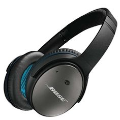 Bose® QuietComfort® 25 Cuffie Acoustic Noise Cancelling® per dispositivi Apple, Nero