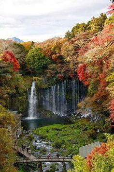 Shiraito Falls - Fujinomiya, Japan #synvansweete @Synthia Van Sweete