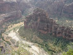 Zion National Park, UT  View from Angels Landing.ck