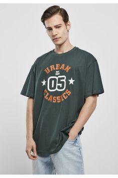 Bold Logo, Tee Shirt Homme, Urban Classics, Herren T Shirt, Printed Tees, Mens Tees, Kante, Cotton, How To Wear