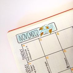 Working on the new month's set up in my bullet journal. I can't believe that November is just around the corner!!! Crazy!!  Have you finished yours yet? #leuchtturm1917 #bulletjournal #bulletjournaljunkies #bulletjournalcommunity #november #monthlysetup #planner #planahead #doodles #leaves #tombowusa