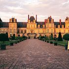 Palace and Park of Fontainebleau, France
